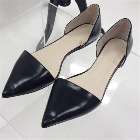 Zalora Dorsay Pumps 50 zara shoes zara black d orsay flat from tracy s