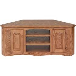 solid wood tv cabinet solid wood oak country corner tv stand w cabinet 55