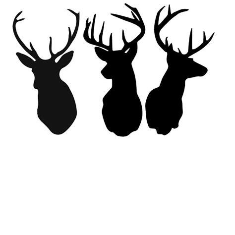 animal silhouette stencil reindeer silhouette stencil free deer print wood burning patterns bing images