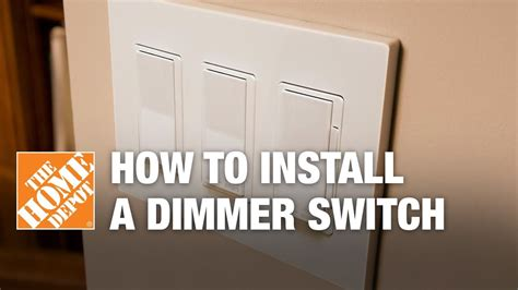 how to install a dimmer switch single pole three way
