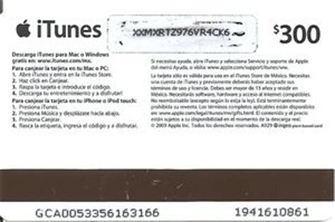 Exchange Itunes Gift Card For Apple Gift Card - gift card bailarina tarjeta rosa apple mexico itunes col mex itu 003