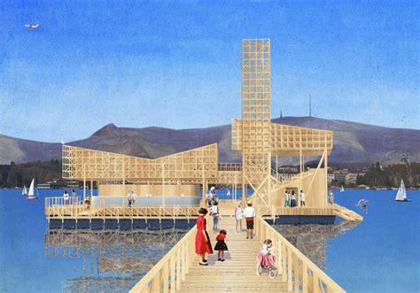 pavillon z rich z 252 rich erh 228 lt eine schwimmende badi f 252 r kunstfans news