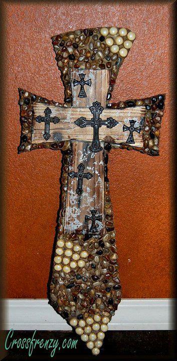 decorative cross rock cross mosaic cross beaded cross