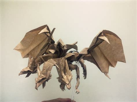 Difficult Origami - 26 non traditional but still awesome origami dragons