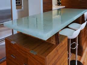 Countertop Options For Kitchen Glass Kitchen Countertops Hgtv