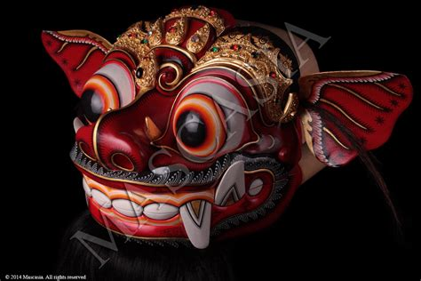 Topeng Barong Bali mascasia galerie de masques d indon 233 sie une large