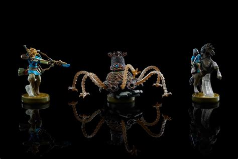 breath of the amiibo the legend of breath of the gets three new