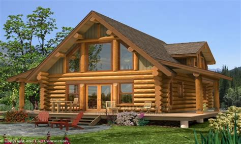small log home  loft log home plans  prices log