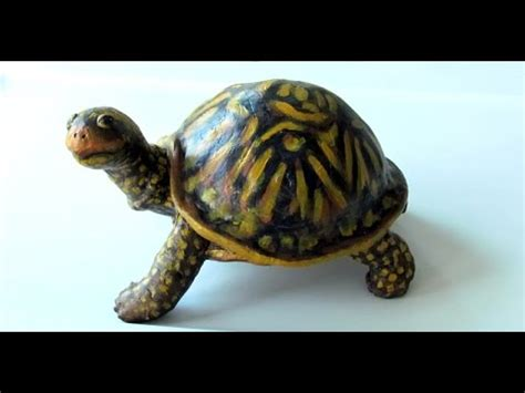 Tortle Air S turtle made with air clay