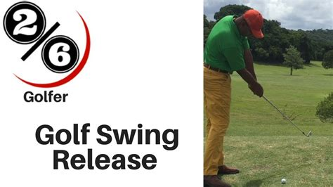 simple golf swing thoughts golf swing release 7 of 100 masters youtube
