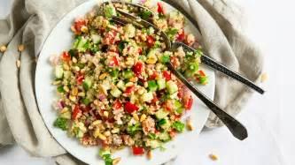quinoa salad refreshing quinoa salad recipe vegetarian times