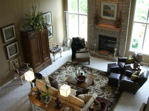 great room furniture layout transitional great room traditional family room