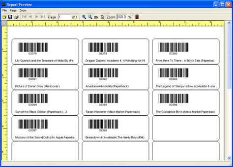 barcode label template how to print library barcode labels book labels