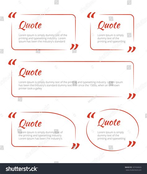 quote card template quote blank template quote empty template circle