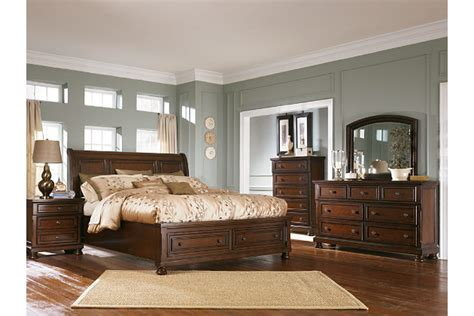 ashley furniture porter bed porter king sleigh bed ashley furniture homestore