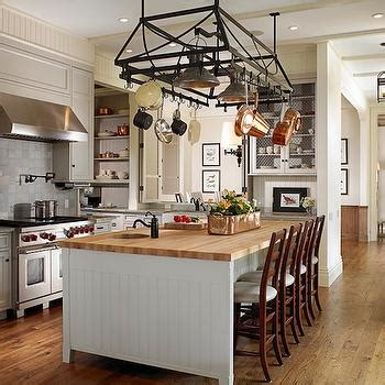 Beadboard Center Island Transitional Kitchen Huryn | built in hutch traditional kitchen venegas and company