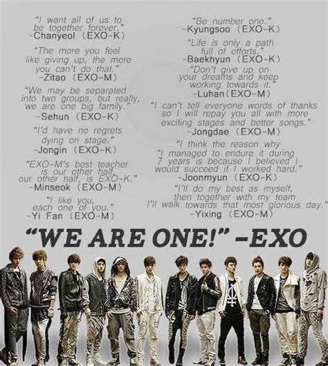 exo i like you it s their 1st anniversary yesterday we are one exo