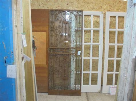 Decorative Wrought Iron Doors - decorative wrought iron door authentic reclamation