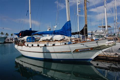 yacht boat ta 1978 ta chiao ct 42 aft cockpit ketch sail boat for sale