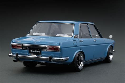 nissan datsun model nissan datsun bluebird sss 510 light blue ignition model