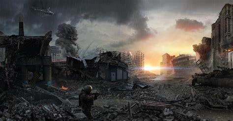 war future city wallpaper last fight concept art sci ficoolvibe digital art