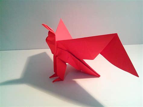 Origami En - como hacer un 225 guila de papel origami en espa 241 ol