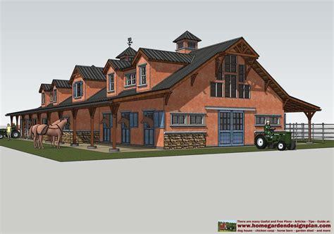 horse barn designs mina hb100 horse barn plans horse barn design