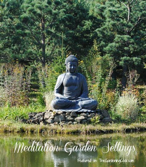 backyard meditation gardens meditiation garden settings the gardening cook