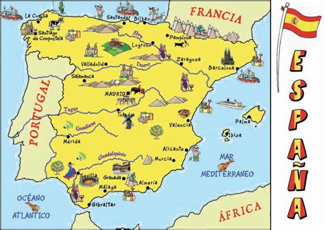 espana map spain mpsd summer