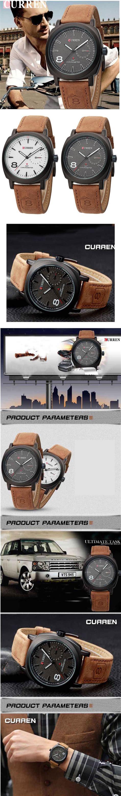 Jam Tangan Pria Original Anti Air Curren 8110 Black jual jam tangan pria