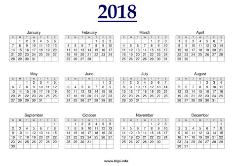 printable monthly 2018 calendar oyle kalakaari co