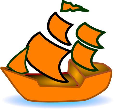 orange boat orange boat clip art at clker vector clip art online