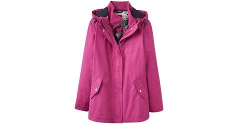 Fashion Burberry 3in1 lyst joules allweather 3 in 1 waterproof jacket v in pink