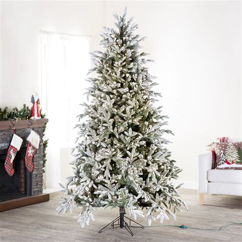 best 28 where to buy a flocked christmas tree pre lit