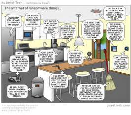 Toaster Jokes The Joy Of Tech Comic The Internet Of Ransomware Things