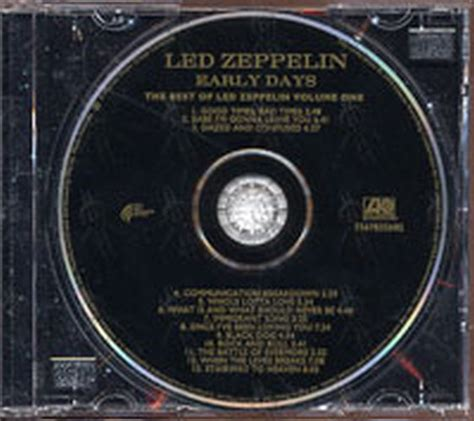 Cd Jazz Early Days Vol 2 As As It Gets Import 2 Cd Set New 1 led zeppelin early days the best of led zeppelin volume one album cd records