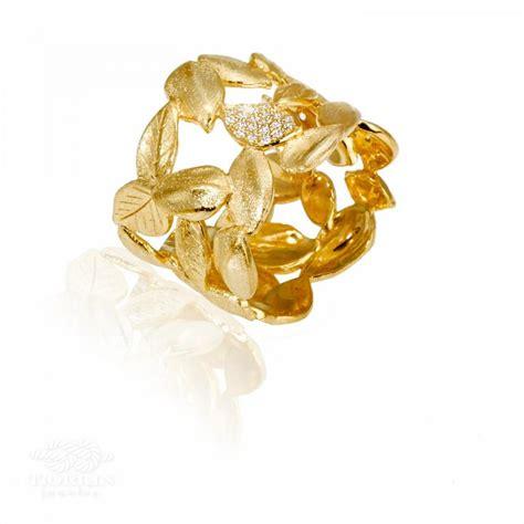 Wedding Rings Leaves by Leaves Wedding Ring Leaves Engagement Ring