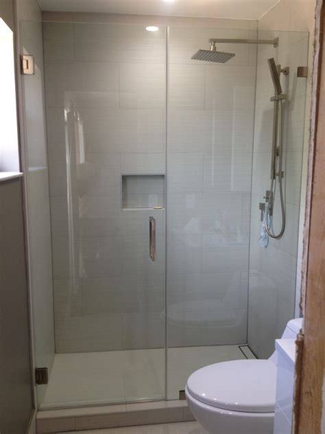 How To Install Glass Shower Doors Frameless Shower Glass Doors