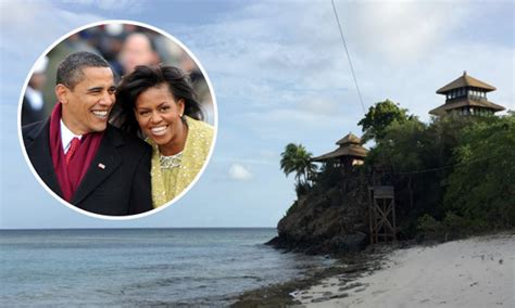 obama island michelle and barack obama vacation at richard branson s