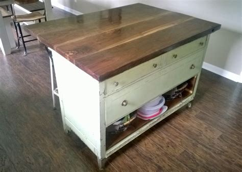 dresser kitchen island diy dresser into kitchen island gallery including old images