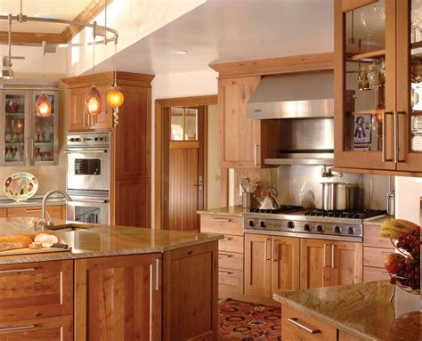 Style Of Kitchen Cabinets Ovation Cabinetry Rustic Alder Shaker Style Kitchen Walzcraft