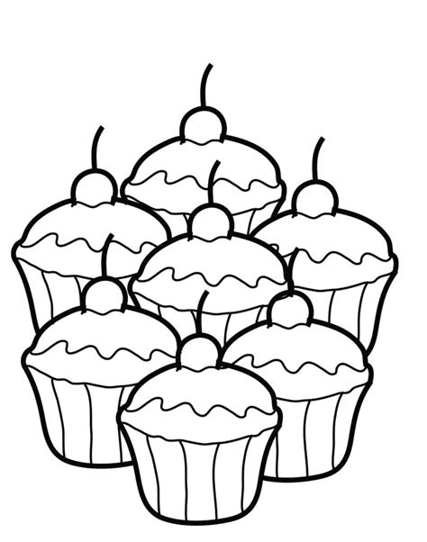 printable coloring pages for youth coloring pages free printable cupcake coloring pages for