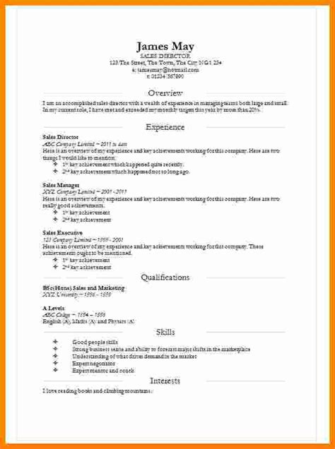 great word document resume templates for word doc resume template