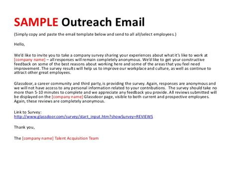 outreach email template recruit like a marketer how to become a top employer on