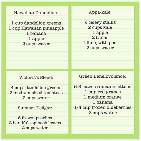 Detox Smoothies For A Week by Try To Drink 1 Quart Of Green Smoothie Everyday For A Week