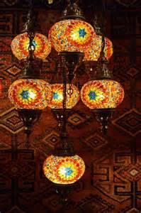 mosaic chandelier turkish turkish seven l mosaic chandelier