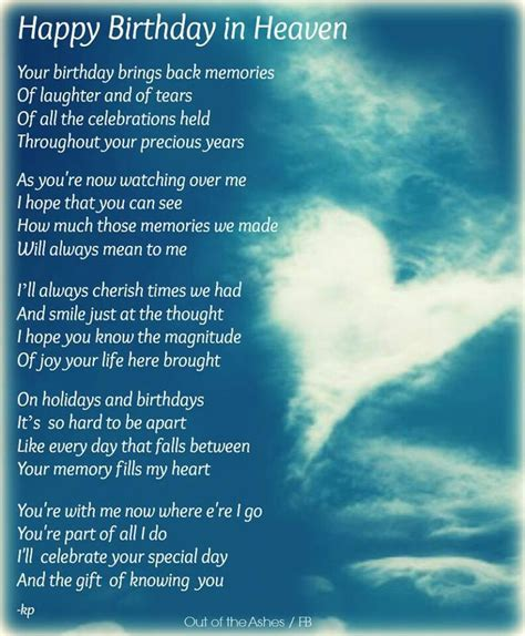 Birthday In Heaven Quotes Happy Birthday Quotes For People In Heaven Http Www