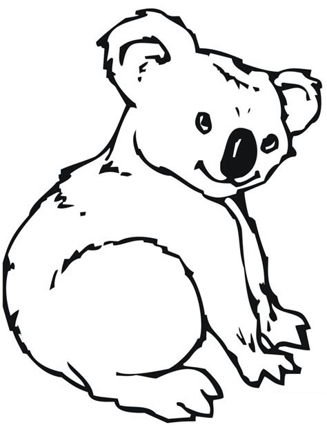 Koalas Coloring Pages free printable koala coloring pages for