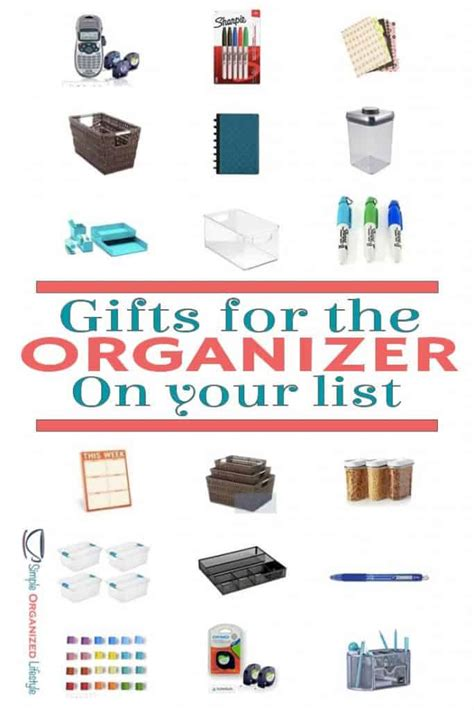 10 Great Gifts For Your by Top 10 Gifts For The Organizer On Your List Simple