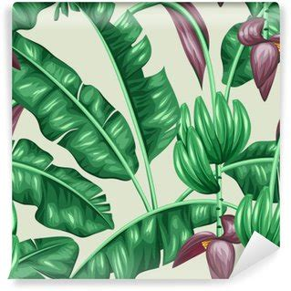 banana leaf wallpaper ebay ebay wall murals pixers 174